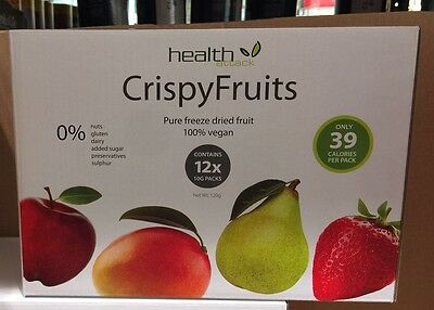 Health Attack Crispy Fruits Multibox 12x 10g      100% vegan