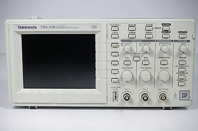 Tektronix TDS210 Digital Real-Time Oscilloscope - 60 MHz, 2 Channels, 1 GS/s