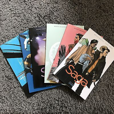 Saga Volume 1-6 (Graphic Novel)