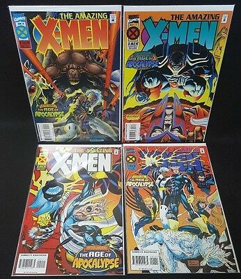 Amazing X Men 1 2 3 4 Andy Kubert Art Complete Set Nm
