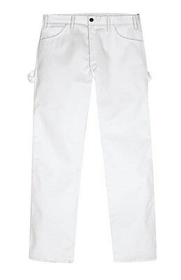Dickies WP820 Mens Premium Painter White Pant Dickies painters pants.