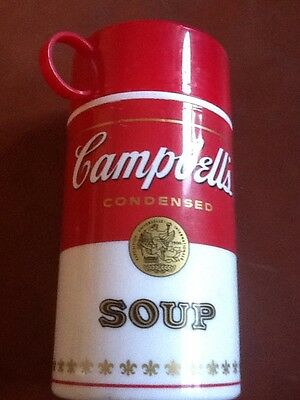 Campbell's Soup Plastic Thermos