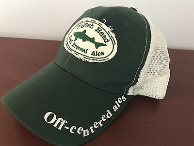 Dogfish Head Craft Brewed Ales Trucker Hat Snap Back Beer IPA