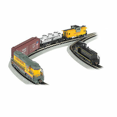 Bachman Trains - Golden Spike, N Scale Ready to Run Electric Train Set with Digi