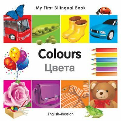My First Bilingual Book - Colours by Milet Publishing Ltd 9781840595666