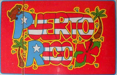 New Puerto Rico Flag Spanish Playing Cards Barajas, Briscas Naipes, Tarot Deck