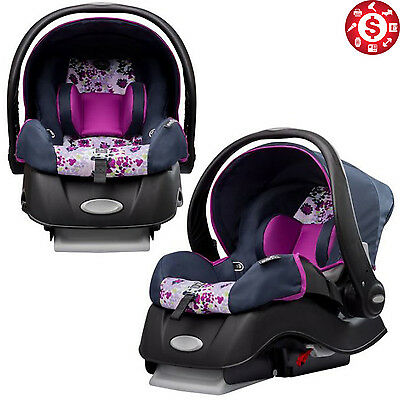 "INFANT CAR SEAT Newborn Baby Safety Kids Safe Travel Canopy 4-35 lbs 30"" Tall"