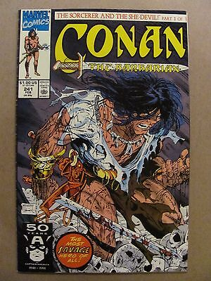 Conan The Barbarian #241 Marvel Comics Todd McFarlane Cover 9.2 Near Mint-