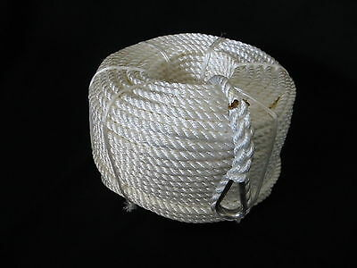 100Mtrs X 24Mm Nylon Anchor Rope With Stainless Steel Thimble