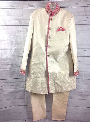 Designer Men Sherwani Churidar Ethnic African Luxury Party Wedding Indian Kurta