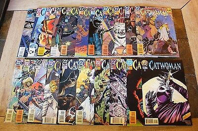 Catwoman #0-50, 57,100, annuals, and more, high grade comics