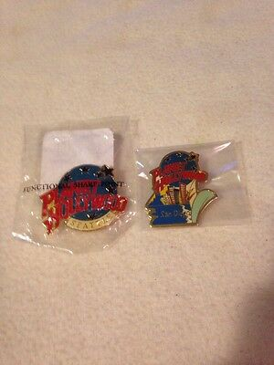 Lot of 2 Planet Hollywood Pins San Diego(loose) & Seattle(NIP)