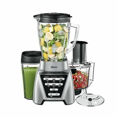 Oster Pro 1200 Blender 3-in-1 with Food Processor Attachment and XL Personal ...