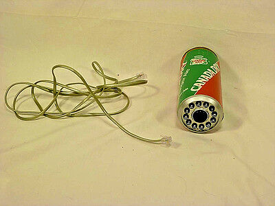 Vintage Canada Dry Can Land Line Push Button Phone - 1980's