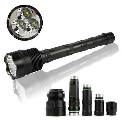 80000LM CREE LED XMK T6 Tactical Flashlight Torch Lamp 18650 Ultra Bright  G2