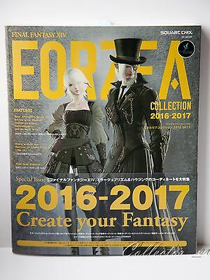 FINAL FANTASY XIV FF14 Eorzea Collection 2016 2017 Art Catalog from Japan