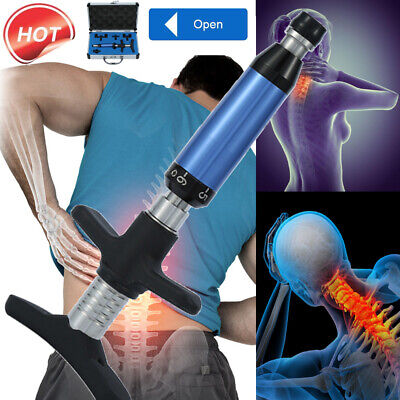 Portable Chiropractic Adjustment Kit Spine Therapy Back Massage