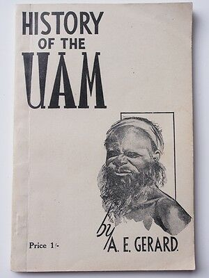 History of the UAM by A.E.Gerard . 1940s. Aboriginal Mission in South Australia.