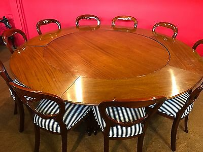 Stunning Grand Jupe Boardroom / Dining Table Pro Hand French Polished