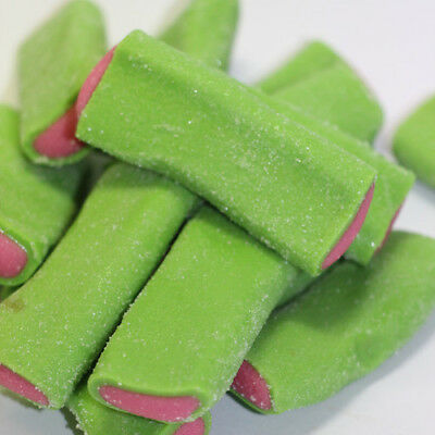 Sour Watermelon Flavour Blowpipe Lollies  200g , Lollies Buffet