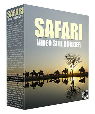 Create Unlimited Video Safarai Websites With This Software Master Resell Rights