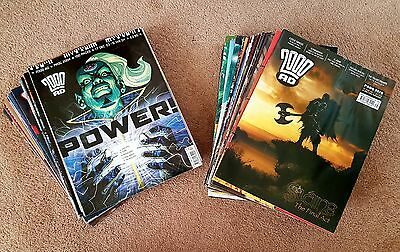 2000ad collection x60 progs
