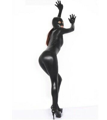 Super Springy Body latex Spandex Catsuit with MOUTH, eyes and mouth