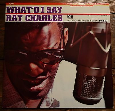 Ray Charles - What'd I Say (1982 LP. ATL 50868) Ex/Ex