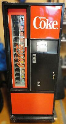 Vintage Cavalier Mfg. GENUINE Coca-Cola Can & Bottle Dispensing Vending Machine.