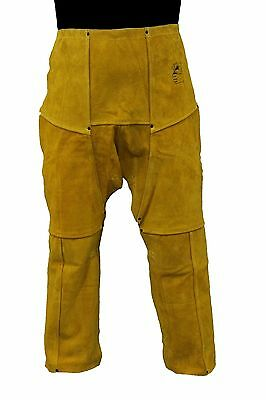 GLOVES CASTLE WS-509 LEATHER WAIST CHAPS  size 40""