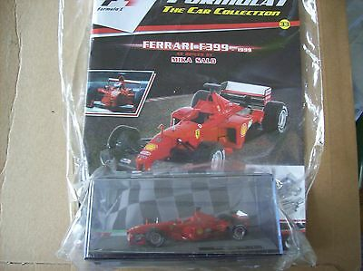 Formula 1 The Car Collection Part 33 Ferrari F399 1999 Mika Salo