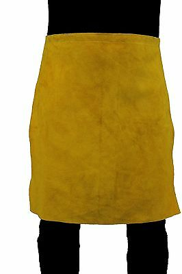"GLOVES CASTLE WS-510 LEATHER  WAIST APRON size 24"" x 24"""