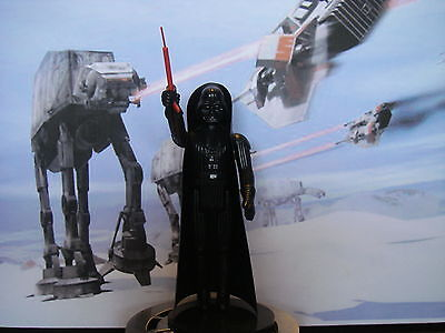 star wars vintage Darth Vador figurine complete