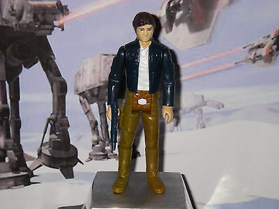star wars vintage Han Solo Bespin figurine complete