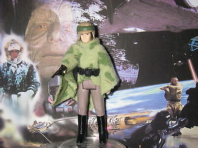 star wars vintage Léia combat poncho figurine complete