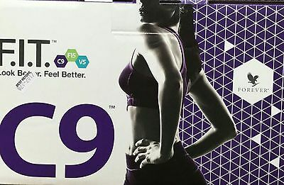 Forever Living Clean 9 Pack - C9 Kit Cleanse 9 Day Detox  Chocolate AND Vanilla