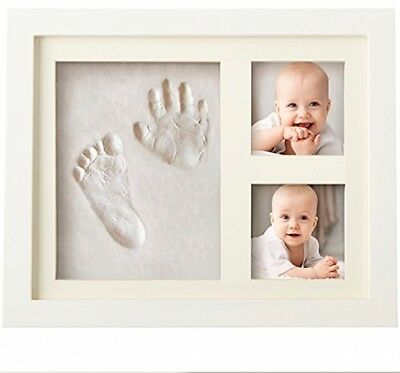 BEST BABY HAND And FOOTPRINT PICTURE FRAME KIT For Boys And Girls, Cool And For