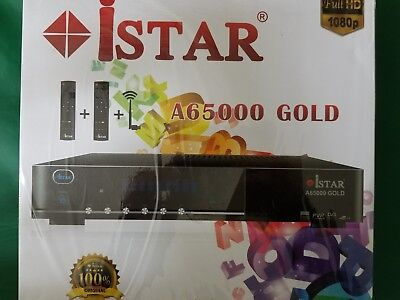 iStar Korea receiver box with Six months online TV code A8000 plus