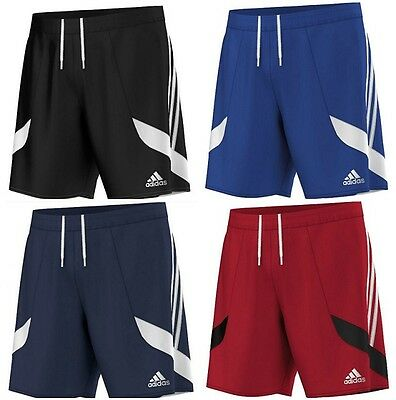 Adidas Boys Nova Football Shorts Kids Junior Sports Gym Running Training PE