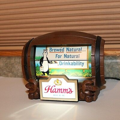 Hamm's Beer  Rotating Flip Motion Sign