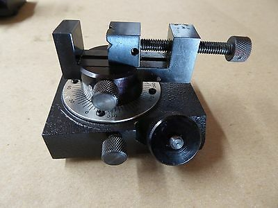 New Deltronic Optical Comparator Rotary Vise Stage #2