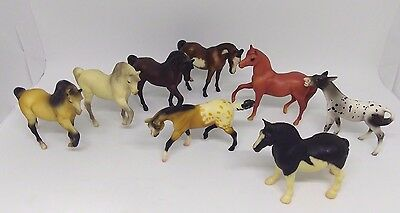 Breyer Stablemates G1 lot 8 Horses Vintage 1975/1976 and 1998