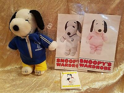 Vintage Plush Snoopy Doll 1968 with Wardrobe Cards (1 OUTFIT ONLY)