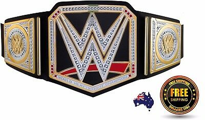 Wwe Championship World Belt Heavyweight Title Replica Wwf Wrestling Adult Toy