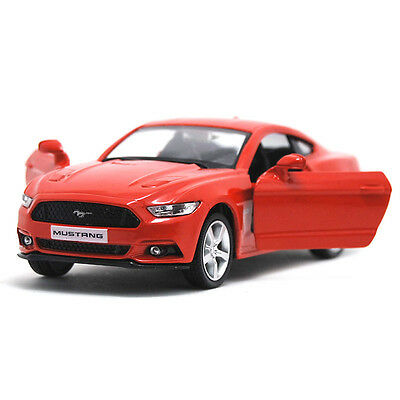 """Ford Mustang GT 2015 Model Cars 1:36 5"""" Toys Collection&Gifts Alloy Diecast Red"""