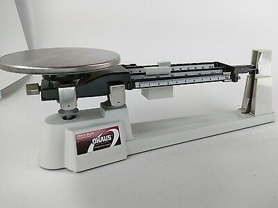 OHAUS 700/800 Series 2610g 5lb 2oz TRIPLE BEAM BALANCE SCALE Excellent Condition