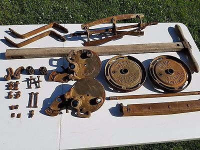 VINTAGE ANTIQUE Belknap Cyclone Rotary Reel Push Lawn Grass Mower All parts