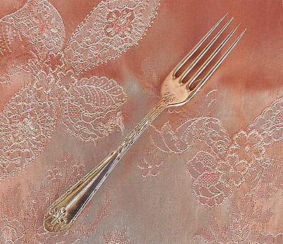 RODD  ACANTHUS  Silver PLATE    Single  DINNER FORK       VINTAGE