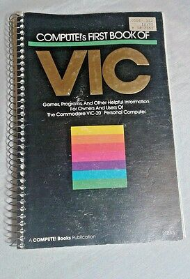 COMPUTE!'s First Book of VIC