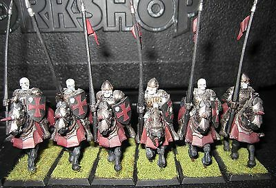 Warhammer Vampire Counts Black Knights or Kings of War Undead Cavalry
